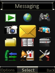 Elevated theme for Sony Ericsson W705