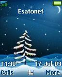 Winter Night t630 theme