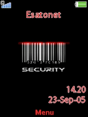 Security Z750  theme