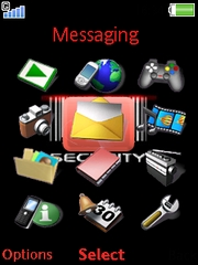 Security theme for Sony Ericsson W910