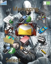 Assassins Creed W610  theme
