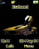 Yellow lambo W200 theme