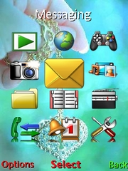 Love theme theme for Sony Ericsson Jalou