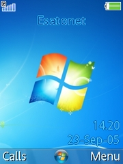 Windows 7 theme for Sony Ericsson W580 / W580i