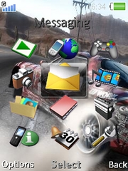 Need For Speed W910  theme