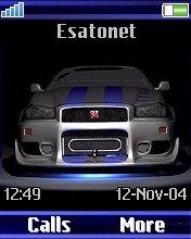 Skyline GTR K750  theme
