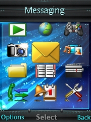 Tanu theme for Sony Ericsson Naite