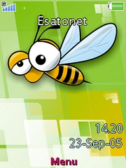 Bee theme for Sony Ericsson W910