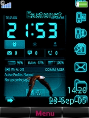 Internal data theme for Sony Ericsson G705