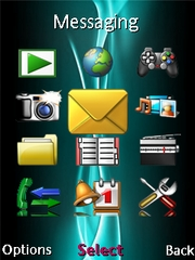 Internal data theme for Sony Ericsson W595