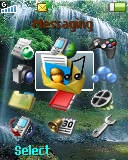 Waterfall W300 / W300i theme