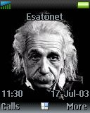Albert Einstein t630 theme