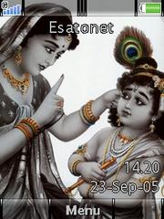Krishna W910  theme