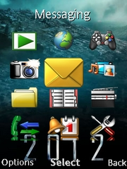 2012 theme for Sony Ericsson G705