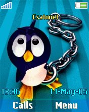 Penguin W810  theme