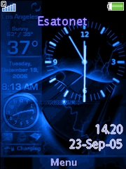 Animated Watch T715  theme