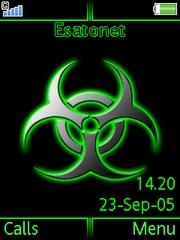 Virus theme for Sony Ericsson K770