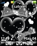Black hearts K320 theme