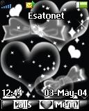 Black hearts K320 theme