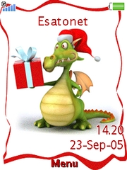 New Year's Dragon theme for Sony Ericsson W995