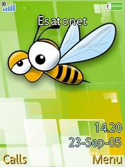 Bee theme for Sony Ericsson W880