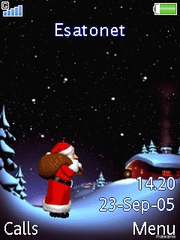 Santa is coming W880  theme