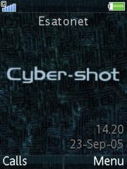 K810 themes. Free Cyber-shot theme for Sony Ericsson K810
