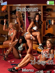Lingerie Football League Z780  theme