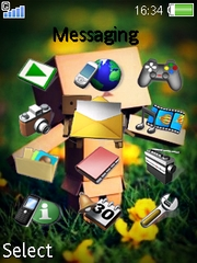 Danbondh theme for Sony Ericsson K770